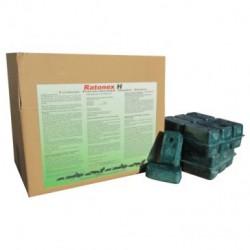 Ratonex H – Bloque de Difenacoum al 0,005% - 7,2kg