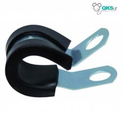"""Abrazadera goma negra para tubo de alta presión 3/8"""" QKSur"""