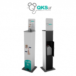 Dispensador Automático de Gel Hidroalcohólico con Pedal
