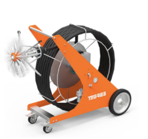 maquina para limpieza de conductos de ventilación aire acondicionado