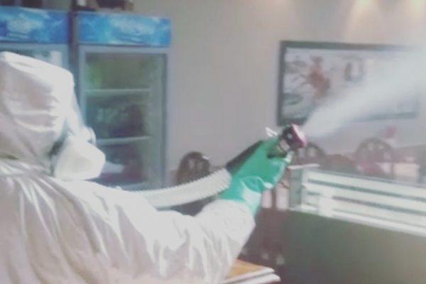 Desinfección por nebulización. Empresa especialista